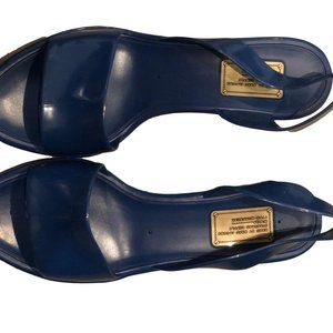Marc by Marc Jacobs Royal Blue Jelly Navy Plastic